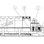 Walair Mobiele Drum separator