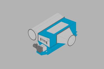 Walair rotating-separator