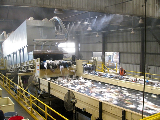 MSW 4-way drum separator USA
