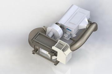Walair compact air separator
